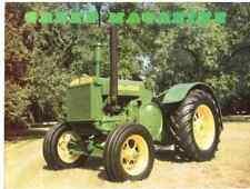 John Deere Pre Model D tractor, Jd 40 Green Magazine