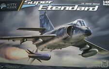 1/48 Dassault-Breguet Super Etendard Model Kit by Kitty Hawk Models