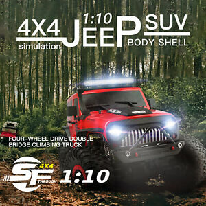 1/10 2.4G SUV RC Car 4WD Brushed Off-Road Rock Crawler RTR WLtoys 104311