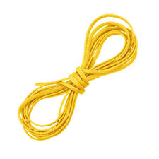 1mm Waxed Polyester Macrame Jewellery Cord Yellow 1 Metre (D56/5)