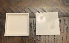 New Lego Set Of 2 White 1x6x5 Panel / Rare Wall Color Bulk Parts Lot