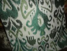 WORLD MARKET GREEN CHARCOAL SOUTHWESTERN IKAT (1) SQUARE PILLOW COVER 20 X 20