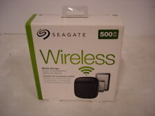 Seagate STDC500100 Wireless Mobile Storage 500GB External Hard Drive Black