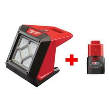 Flood Light Cordless Compact 1000-Lumen 12-Volt Battery Rover LED With Battery