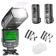Neewer NW620 2.4G Wireless Manual Flash Speedlite Kit for Canon Nikon Cameras
