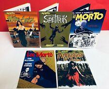 Fumetto Noir IL MORTO serie completa PROMO (12 numeri) + SPECIALI (5 numeri)