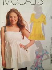 McCalls Sewing Pattern 5626 Ladies Misses Tunics Size 14-20 Uncut