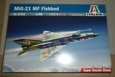 2715 Mig 21 Mf Fishbed Italeri 1/48 plastic model kit