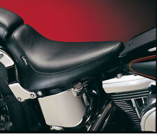 LePera Smooth Silhouette Solo Seat for 1984-1999 Harley Softail FXST/FLST