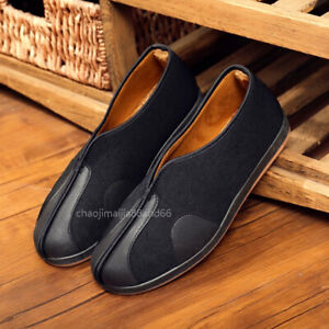 Warm Lightweight KungFu Martial Arts Toist Boots Taichi Bruce Lee Non-slip Shoes