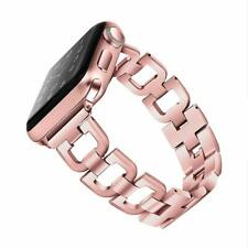 iWatch Band 42mm/44mm Series 4 3 2 1 Stainless Steel Replacement Strap Rose Gold