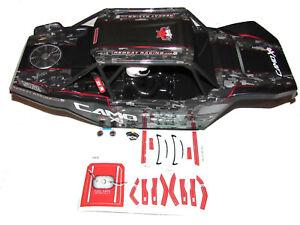 Redcat Camo X4  Pro 4x4 Brushless Rock Racer Body & Decal Sheet