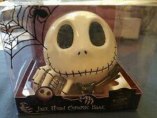 Nightmare Before Christmas Jack Head Ceramic Bank