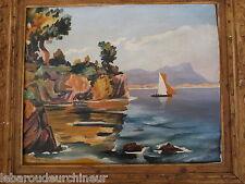 Jolie peinture fauviste signé André 1943