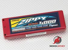 Zippy Lipo RC Car 2 Cell Battery Hardcase 2S 7.4v 4000mAh 25C ROAR APPROVED