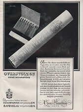 KÖLN, Werbung / Anzeige um 1936, Haus Neuerburg Overstolz Zigaretten