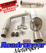 SCORPION FIESTA ST150 EXHAUST STAINLESS SPORTS CAT & CAT BACK SYS SFDX068 SFD068