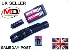 NEW CREE 1600LUMENS ZOOMABLE/FOCUSABLE FLASHLIGHT TORCH UK SELLER SAMEDAY POST