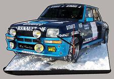 RENAULT 5 GT TURBO SABY, R5 GT Turbo  en horloge