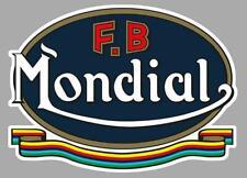 F.B MONDIAL Sticker vinyle laminé