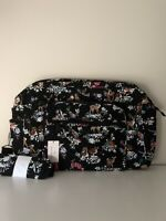Vera Bradley NWT Iconic Weekender Travel Bag Carry On Luggage MERRY MISCHIEF