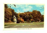 Ansted West Virginia Hawks Nest State Park Postcard