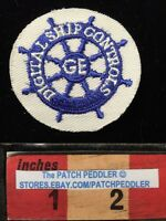 Embroidered Twill GENERAL ELECTRIC GE PATCH Digital Ship Controls 00A8