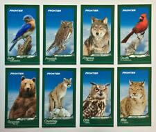 Frontier Airlines Animal Trading Cards - Complete! Set Of 8 - New Mint!