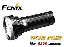 New Fenix TK75 2018 USB Rechargeable Cree XHP35 HI 5100 Lumens LED Flashlight