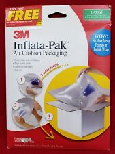 3M Inflate Pac air cushion Packaging 1 large 10x10 inches new