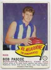 1966 Scanlens (11) Bob PASCOE North Melbourne :