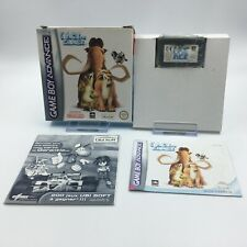 Jeu L'Age de Glace Nintendo GameBoy Advance Game Boy GBA PAL FRA - EUR