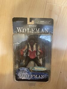 """Mezco Toyz Universal Monsters The Wolfman 7"""" Scale Action Figure 2009 New In Box"""