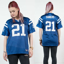 WOMENS VINTAGE INDIANAPOLIS COLTS BLUE MESH OVERSIZE NFL AMERICAN FOOTBALL 8 10