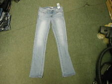 "Levi's Slight Curve Straight Jeans W 28"" Leg 34"" Faded Dark Blue Ladies Jeans"