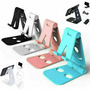 Universal Adjustable Mobile Phone Holder Stand Desk Swivel Foldable Portable NEW