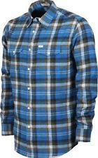 MATIX Brooklyn Flannel Shirt (L) Indigo