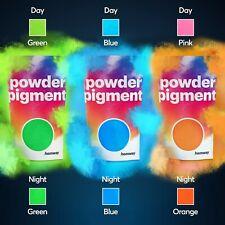 Glow In Dark Pigment Powder Neon Fluorescent Paint Nail Art Crafts Acrylic Body