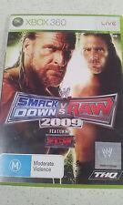 smackdown vs raw 2009 xbox 360