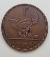 1968 Irlanda in EIRE 1d ONE PENNY COIN-GRANDE MEDAGLIA