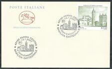 2007 ITALIA FDC CAVALLINO CATTEDRALE DI PARMA NO TIMBRO DI ARRIVO - EDG23