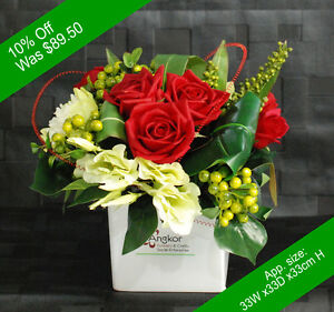 Artificial Flowers - Roman Arrangement - for Home Decor or Gifting
