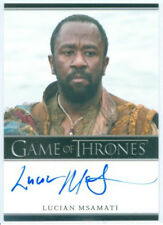 "LUCIAN MSAMATI ""SALLADHOR SAAN LIMITED AUTOGRAPH CARD"" GAME OF THRONES SEASON 4"