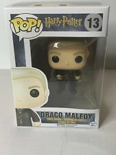 FUNKO POP HARRY POTTER DRACO MALFOY WAND #13 AUTHENTIC VAULTED RARE WPP