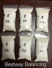 Tire Balancing Beads - 6 bags of 8 oz Tire Beads-Medium Size (48 oz total)