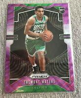 2019-20 Panini Prizm Purple Wave Tremont Waters #286 Boston Celtics Rookie