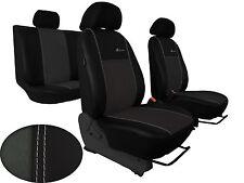 Für SX4 S-Cross paßgenau Sitzbezüge Design EXCLUSIVE Kunstleder mit Alkantra.
