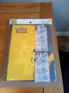 Ultra Pro - Pro Binder Portfolio 9 Pocket - Pokemon Pikachu