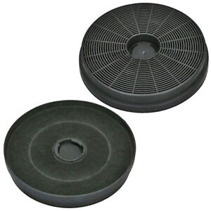 STOVES 082650072 Genuine Cooker Hood Filters Extractor Vent Carbon Filter x 2