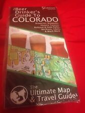 Beer Drinker's Guide To Colorado Ultimate Map & Travel Guide Nip 5th Edition